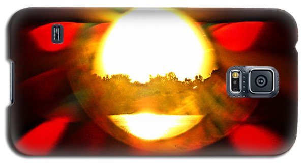 Galaxy S5 Case featuring the photograph Sun Burst by Eric Dee