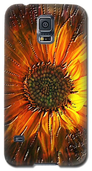Galaxy S5 Case featuring the painting Sun Burst by Kevin Caudill
