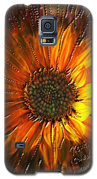Sun Burst Galaxy S5 Case by Kevin Caudill