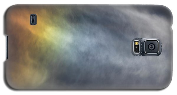 Galaxy S5 Case featuring the photograph Sun Dog 2017 by Thomas Young
