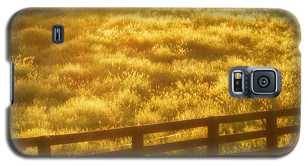 Sun-drenched Pasture Galaxy S5 Case by Mark Miller