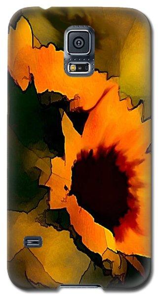 Sun Flower Galaxy S5 Case