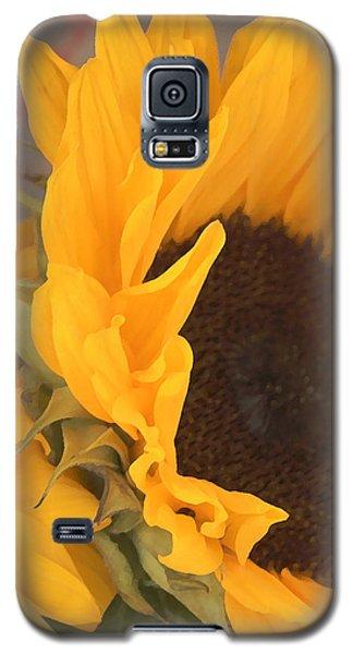 Galaxy S5 Case featuring the digital art Sun Flower by Jana Russon