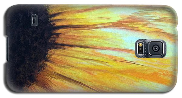 Sun Flower Galaxy S5 Case by Sheron Petrie