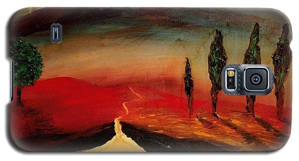 Sun Going Down Galaxy S5 Case