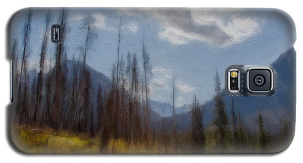 Sun Light In The Forest Galaxy S5 Case