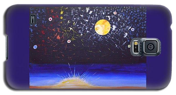 Sun Moon And Stars Galaxy S5 Case