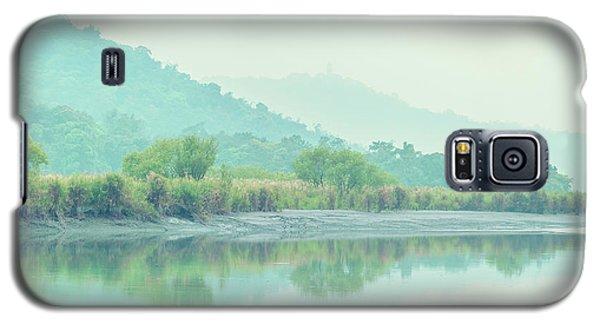 Sun Moon Lake Pastels Galaxy S5 Case