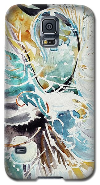 Sun Moon Water Sky Galaxy S5 Case