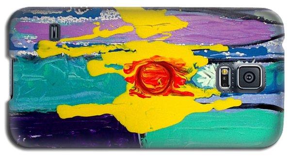 Sun On Sea Galaxy S5 Case