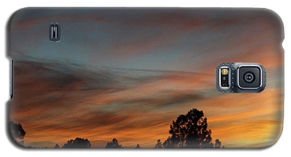 Sun Pillar Sunset Galaxy S5 Case