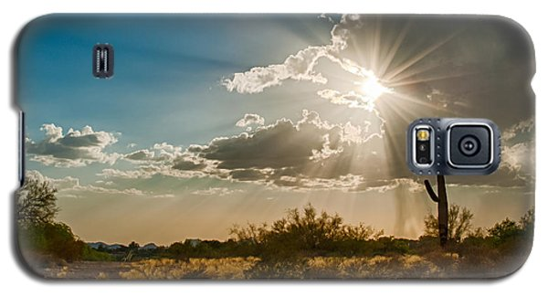 Galaxy S5 Case featuring the photograph Sun Rays In Tucson by Dan McManus