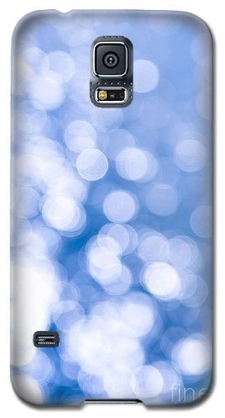 Blue Galaxy S5 Cases - Sun reflections on water Galaxy S5 Case by Elena Elisseeva