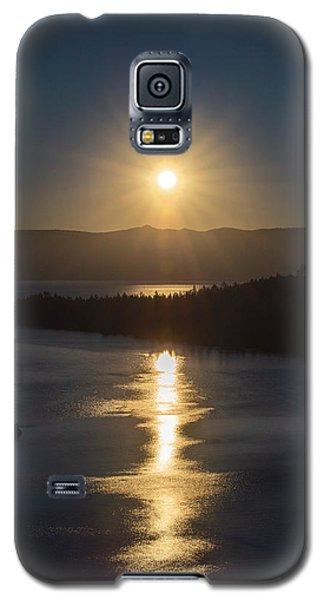 Sun Rising Over Lake Tahoe Galaxy S5 Case