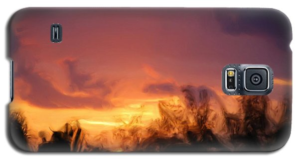 Sun Set Galaxy S5 Case by Jan Daniels