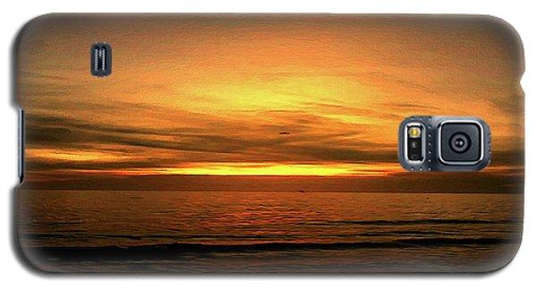 Sun Set On The Gulf Galaxy S5 Case