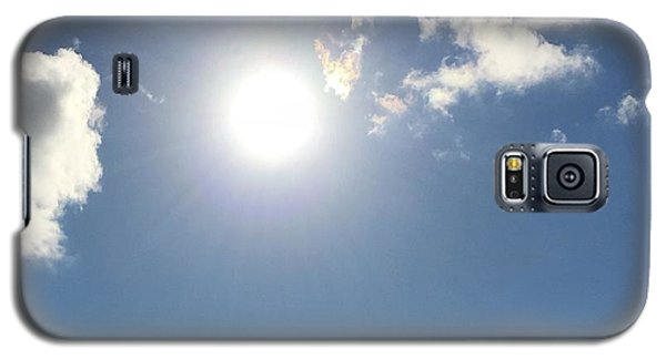 Sun Sky Angel Galaxy S5 Case