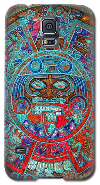 Sun Stone Galaxy S5 Case by J- J- Espinoza