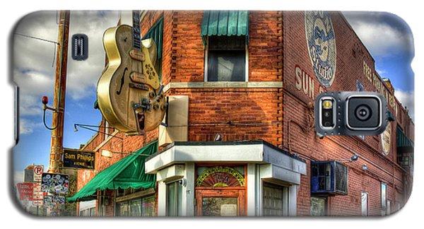 Sun Studio Rock N Roll Birthing Place Memphis Tennessee Art Galaxy S5 Case