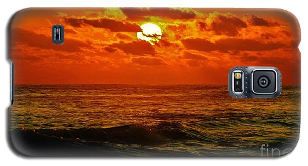 Galaxy S5 Case featuring the photograph Sun Tinted Sea by Craig Wood