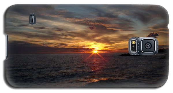 Galaxy S5 Case featuring the photograph Sun Up by Bonfire Photography