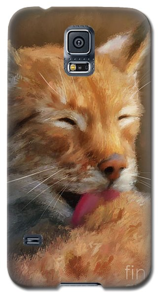 Galaxy S5 Case featuring the photograph Sunbathing by Lois Bryan