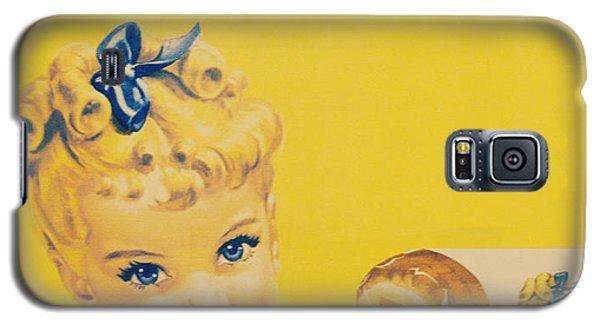 Sunbeam Girl Galaxy S5 Case by Robin Dickinson