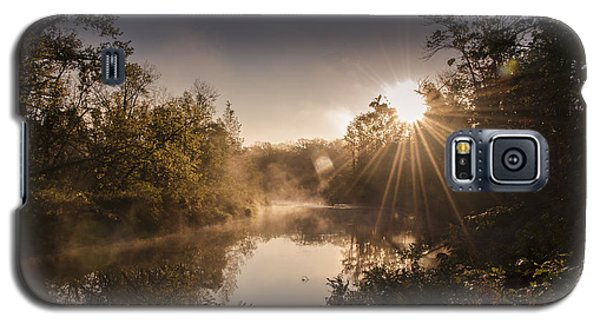 Galaxy S5 Case featuring the photograph Sunbeams  by Annette Berglund
