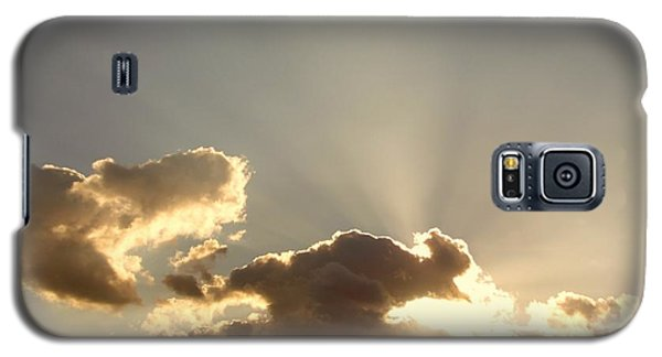 Galaxy S5 Case featuring the photograph Trumpeting Triumphantly Sunrise by Deborah Moen