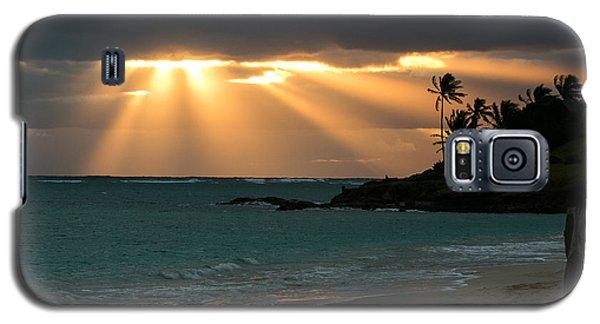 Sunburst At Kailua Galaxy S5 Case