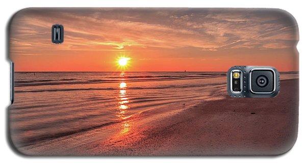 Sunburst At Sunset Galaxy S5 Case