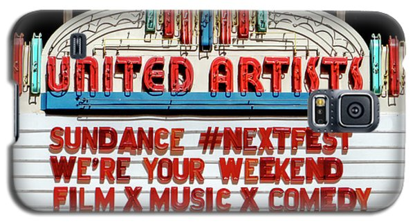 Sundance Next Fest Theatre Sign 1 Galaxy S5 Case