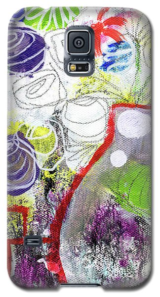 Tulip Galaxy S5 Case - Sunday Market Flowers 3- Art By Linda Woods by Linda Woods