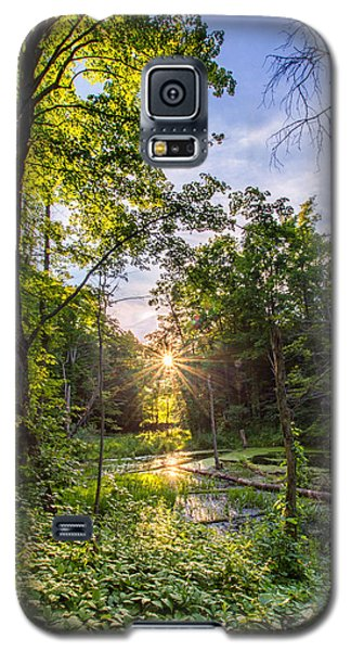 Sundown At Creekside Galaxy S5 Case