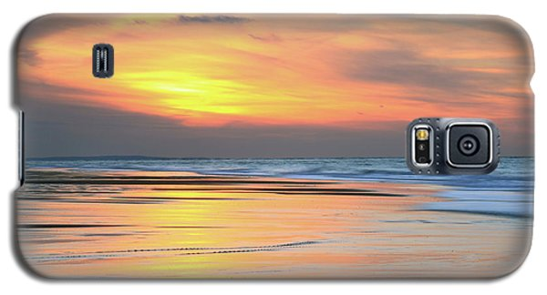 Galaxy S5 Case featuring the photograph Sundown At Race Point Beach by Roupen  Baker