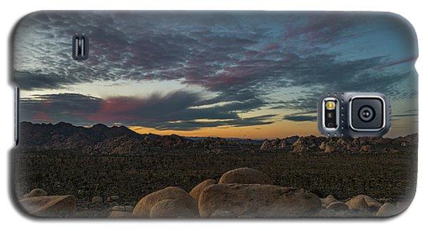 Sundown From Hilltop View Galaxy S5 Case
