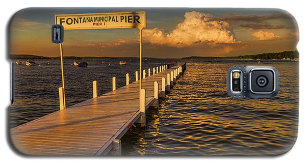 Sundown - Lake Geneva Wisconsin Galaxy S5 Case