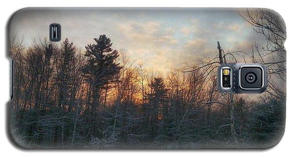 Sundown Winter New England Galaxy S5 Case