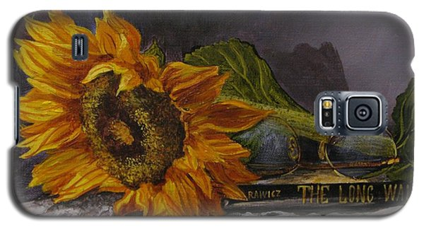 Sunflower And Book Galaxy S5 Case