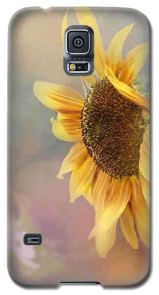 Sunflower Art - Be The Sunflower Galaxy S5 Case