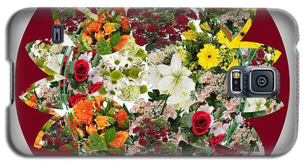 Magnolia Galaxy S5 Case - Sunflower Bouquet Flower Arrangement  Created By Navin Joshi Artist by Navin Joshi