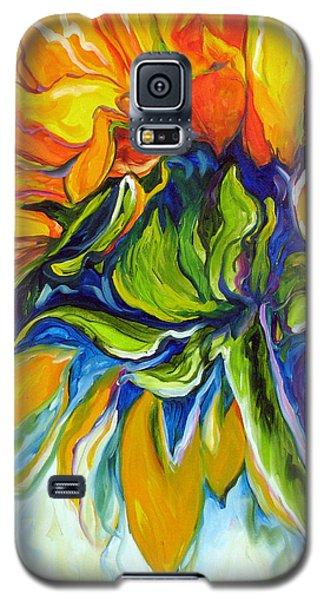 Sunflower Day Galaxy S5 Case