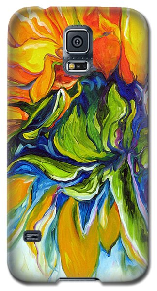 Sunflower Day Galaxy S5 Case