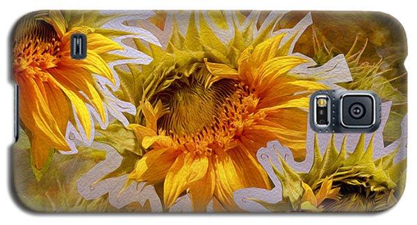Sunflower Delight Galaxy S5 Case