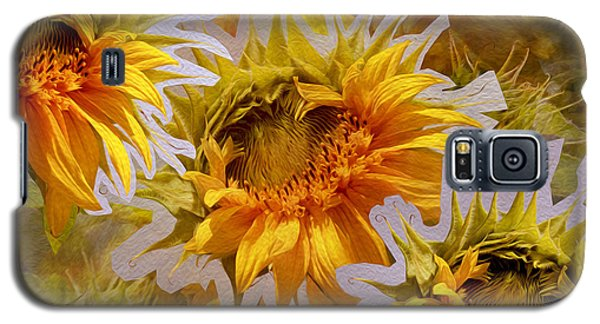 Sunflower Delight Galaxy S5 Case