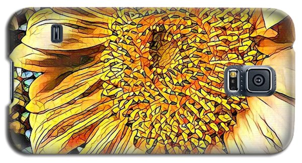 Sunflower In The Alley Galaxy S5 Case by Diane Miller