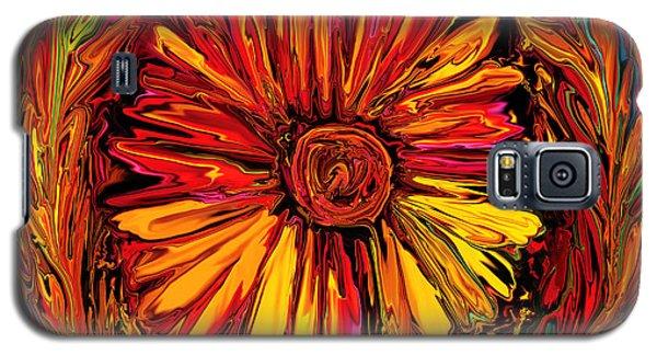 Sunflower Emblem Galaxy S5 Case