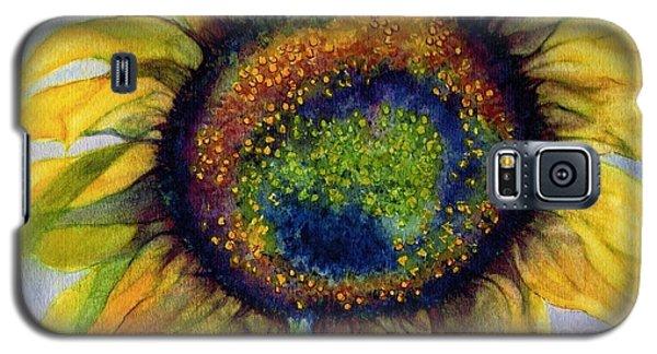 Sunflower  Emergence Galaxy S5 Case