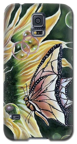 Sunflower Fantasy Galaxy S5 Case by Dianna Lewis