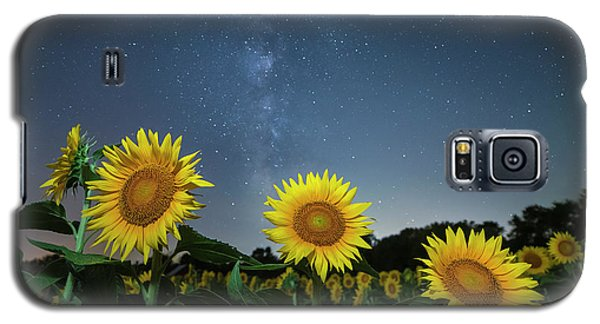 Sunflower Galaxy V Galaxy S5 Case